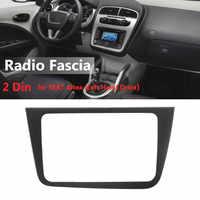 2 Din Car Stereo Radio Fascia Panel Plate Frame CD Dashboard Audio Frame for SEAT Altea Left Hand Drive Car Interior Accessories