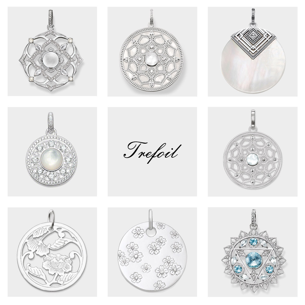 Pendant Crown Chakra Lotus,2018 New Fashion Boho Jewelry Trendy 925 Sterling Silver Cubic Zirconia Gift For Women Fit Necklace