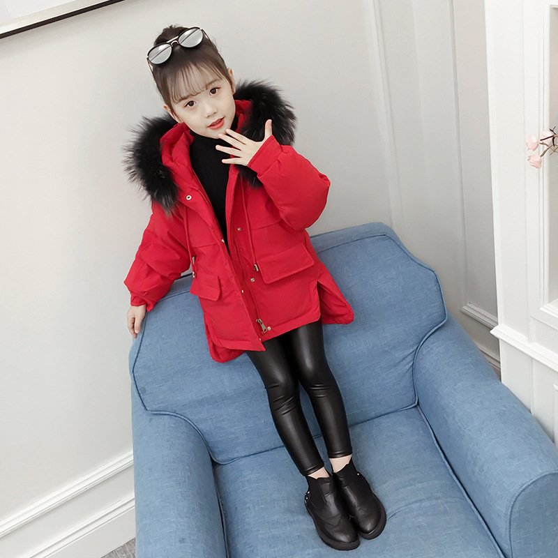 New Pattern Girls Winter Casual Coat Clothes Childrens Garment New Pattern Girls Winter Casual Coat Clothes Childrens Garment