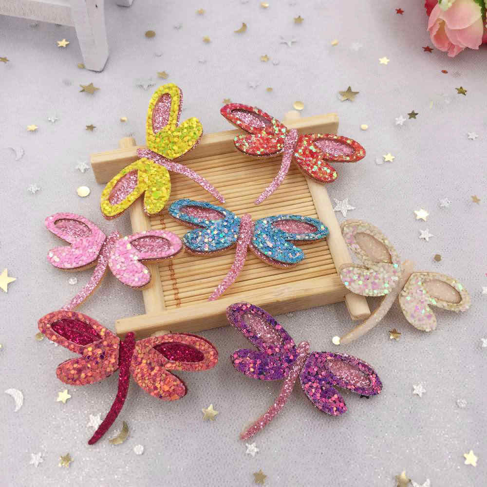 Detail Feedback Questions about New 10pcs 30 49mm Glitter Felt Fabric  Paillette Dragonfly Patches Appliques DIY Wedding A37 on Aliexpress.com  dfc6fdedfbf2