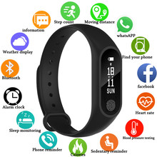 NEW Smart Band Waterproof with Heart Rate Monitor Smart Bracelet Fitness Tracker Pedometer Wristband for Women Men Sport Watch(China)