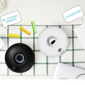 Image 4 - ขวดน้ำ Humidifier USB เงียบสำนักงานรถห้องนอน Mini Desktop Mist Diffuser