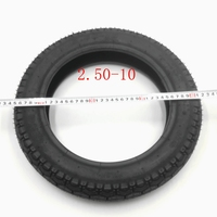 Tire outer wheel 2.5 10 teeth deep 10 inch pit bike motorcycle used on the road