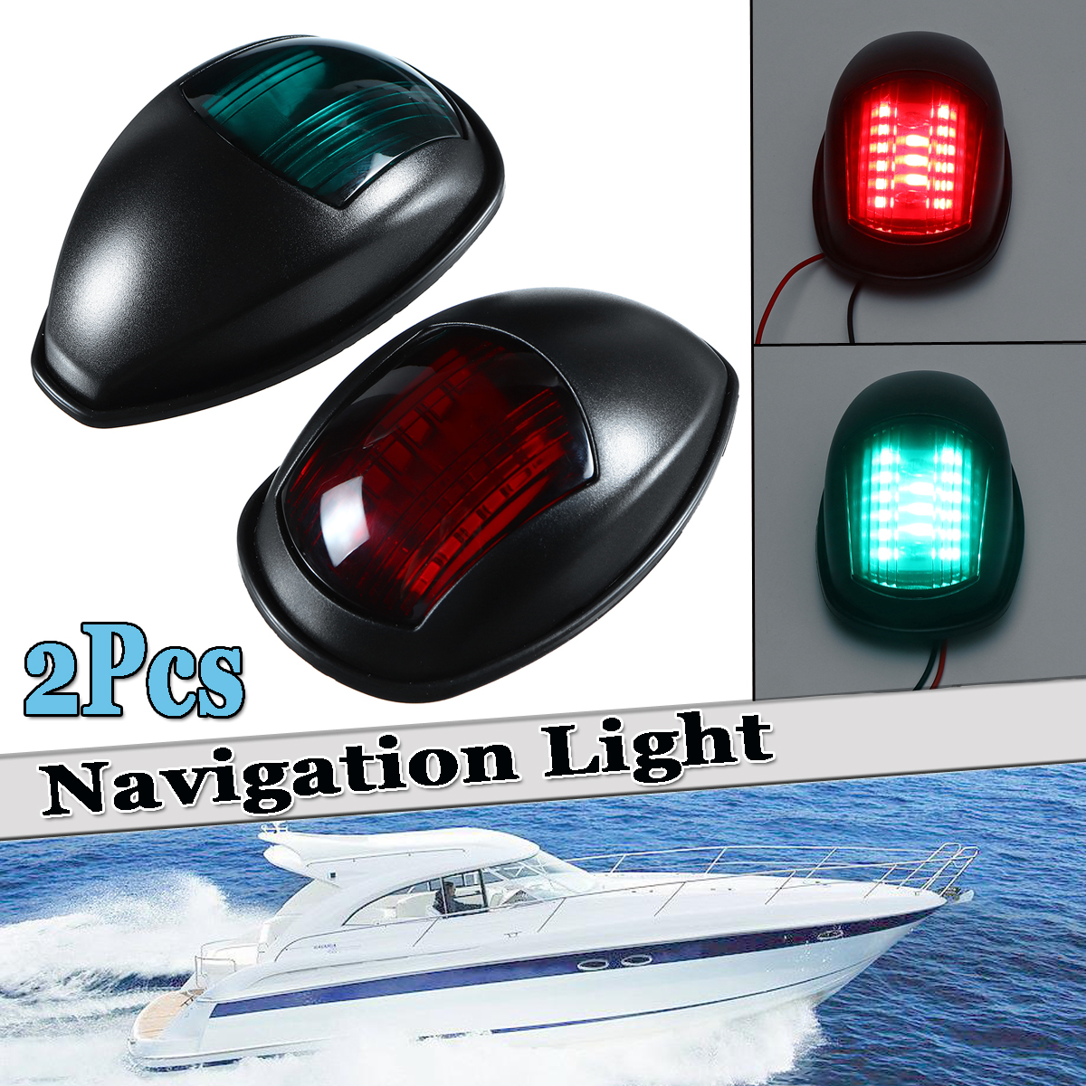 Atv,rv,boat & Other Vehicle Marine Hardware Beler Car Abs Led Light Electronic Navigation Compass Fit For Marine Boat Sail Ship Vehicle Car Confirming Navigation Directions Pure White And Translucent