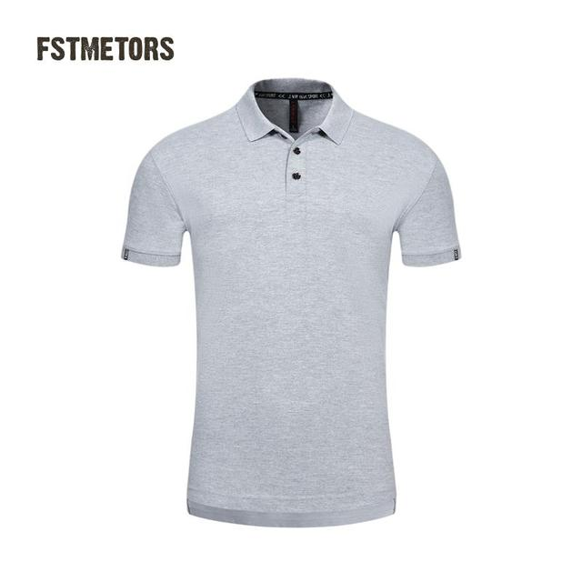 b2747d237 US $7.03 45% OFF|2018 FSTMETORS fashionable men's Polo shirt pure color  England style of cultivate one's morality short sleeve Polo shirt-in Polo  from ...