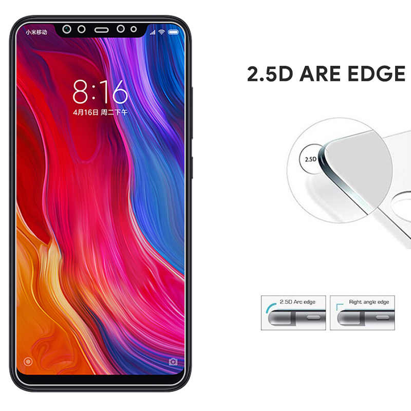 Kaca Tempered untuk Xiao Mi Mi A2 Lite MI 5 Mi 6 MI 5 S Plus Mi Mi X 2A 2 S Layar Kaca Di Xiao Mi Mi A1 Kaca Film untuk Mi 8 Lite Se Pro