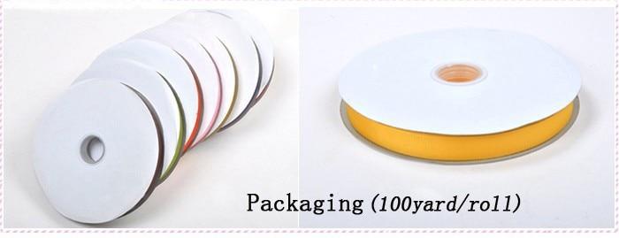 """[IuBuFiGo] 2-1/""""(57 мм) двусторонняя атласная лента Свадебный сатиновый лента 100 ярдов/рулон"""