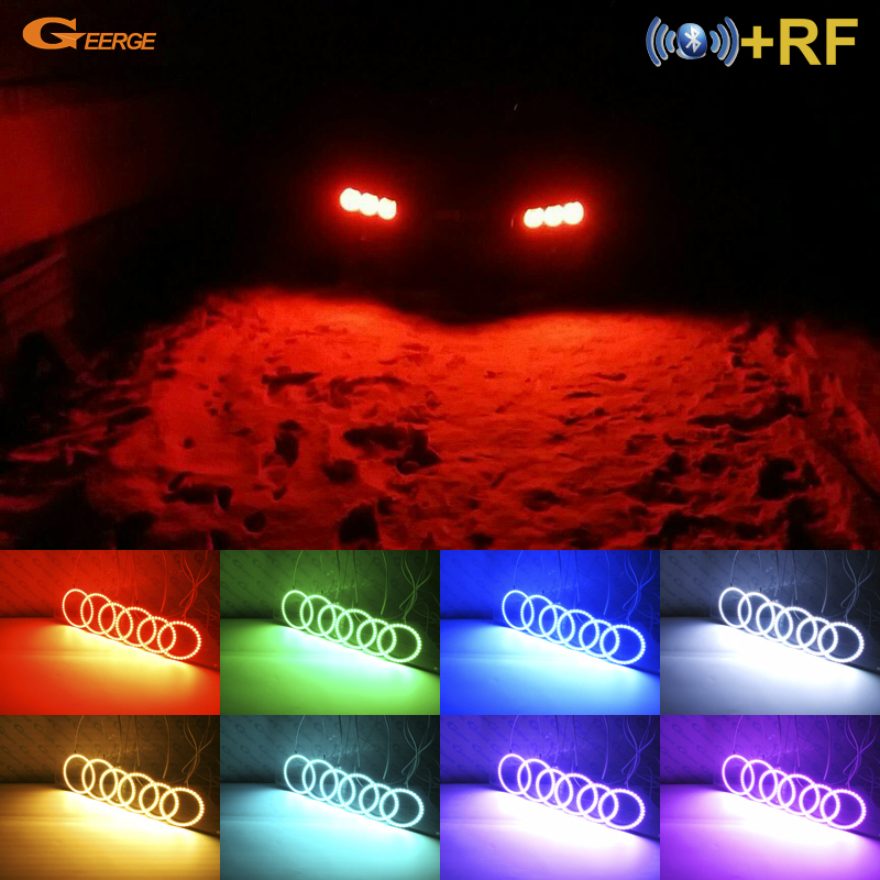 For Alfa Romeo Brera Spider 2005-2011 Excellent RF Bluetooth Controller Multi-Color Ultra bright RGB LED Angel Eyes kitFor Alfa Romeo Brera Spider 2005-2011 Excellent RF Bluetooth Controller Multi-Color Ultra bright RGB LED Angel Eyes kit