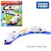 TAKARA TOMY SNOOPY & FRIENDS PEANUTS DREAM RAILWAY MOTORIZED TOY TRAIN