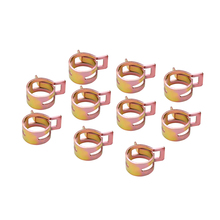 New Hot 60Pcs 6 15mm Auto Fastener & Clip Spring Clip Fuel Line Hose Water Pipe Tube Clamps Fastener Mayitr