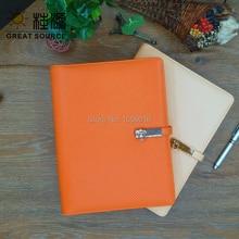 A5 кожаный переплет для ноутбука с блокнот-календарь с DIY делитель Ziplock Органайзер сумка цветные наклейки Мягкая линейка