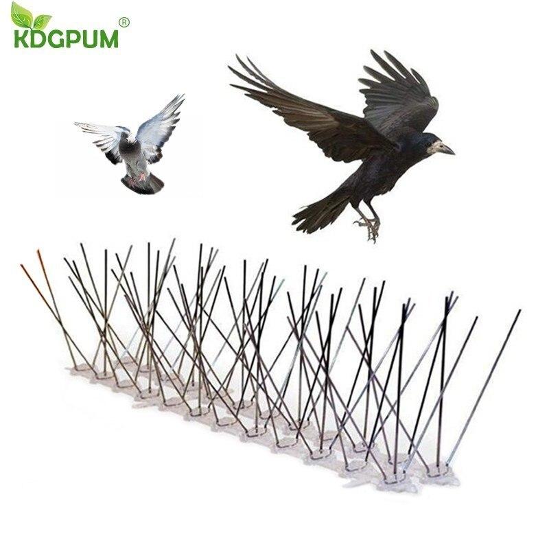 Vente chaude 6 M en plastique oiseau et Pigeon pointes Anti oiseau Anti Pigeon pic pour se débarrasser des Pigeons et effrayer les oiseaux antiparasitaire