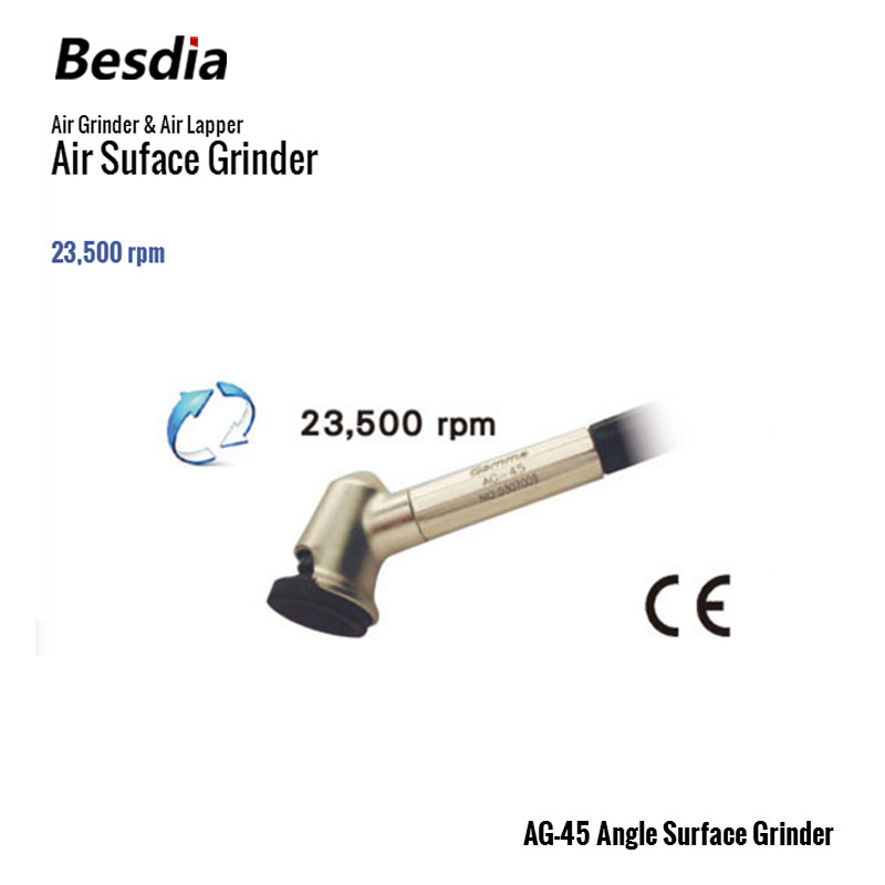 Taiwan Besdia Air Grinder & Air Lapper AG-45 Angle Surface Grinder