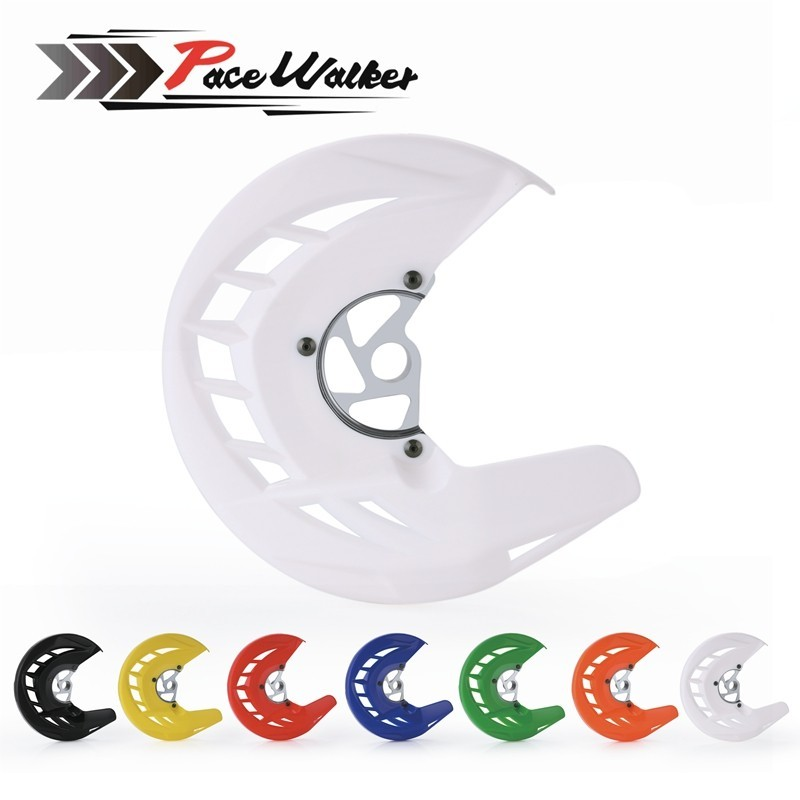 Motorcycle Front Brake Disc Rotor Protection Guard Cover Mount For KTM 125 150 200 250 300 400 SX SXF XC XCF EXC EXCF 2003-2015