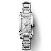 Швейцария Лидирующий бренд наручные часы LOBINNI ультра тонкий кварцевые часы для женщин Мода relogio feminino водостойкий часы L8014 1