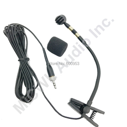 Musical Instrument Microphone for Saxophone Violin Trumpet for Sennheiser XLR 3Pin Phantom Power adapter for Mixer 196 cable