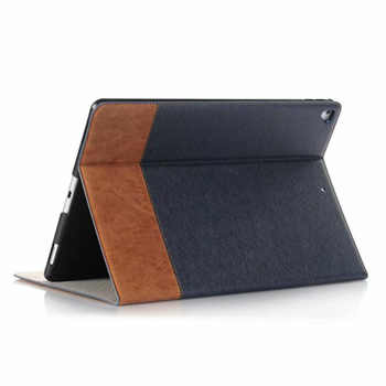 Leather Case for apple iPad Pro 12.9 2017 2015 tablet Auto Wake Up/Sleep all-inclusive protective cover Storage bag with Card - Category 🛒 Computer & Office