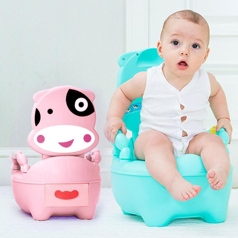 Infant Babies Toilet Training Chair Cute Toddler Toilet Training Seat Baby Travel Drawer Style Anti skid Potty Seat For Children