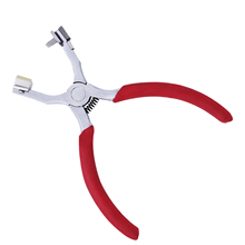 Punching Stitching Pliers Spacing Chisel Piercing Nippers For Leather Strap Watch Band Belt Hollow Hole Puncher precision notching pliers leather watch strap band notch belt watchmaker repair tools