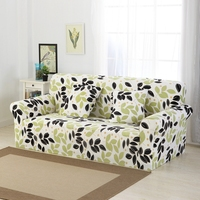 Sofa cover Elastic force Printing Polychromatic optional 1/2/3/4 seat Easy to load and unload Quality assurance Free shipping