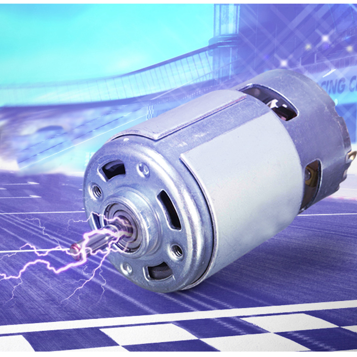 DC Motor 15000rpm 12V 100W 775 High Speed DC Large Torque Motor Ball Bearing Tools Electric Motor Tool Electric Machinery