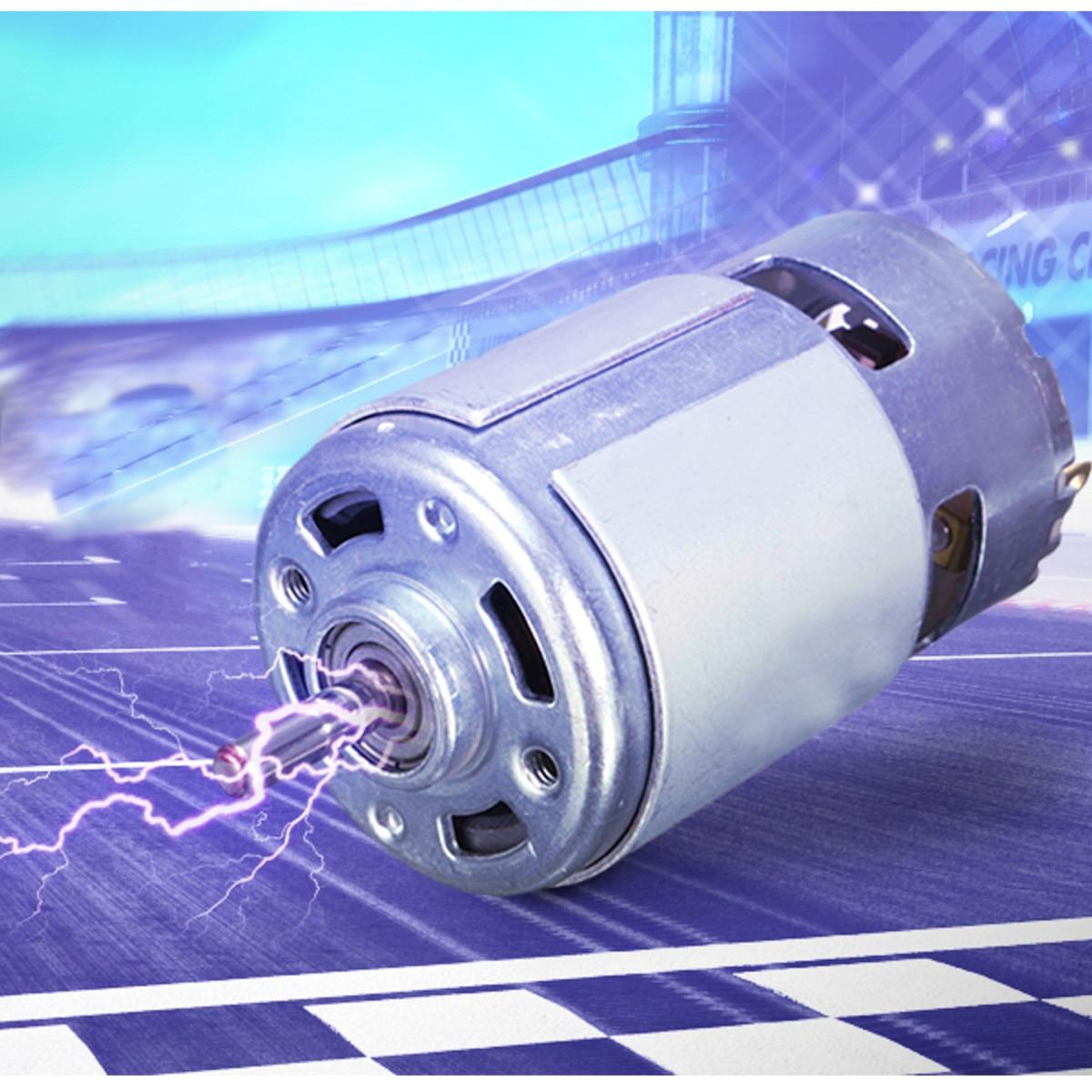 DC 12 V 100 W 1300015000 RPM 775 motor de alta velocidad de torsión grande DC motor eléctrico herramienta eléctrica maquinaria
