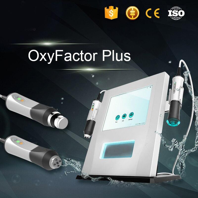 Technologie coréenne traitement de l'acné répare la peau terne 3 en 1 et 2 en 1 Jet d'oxygène Peel