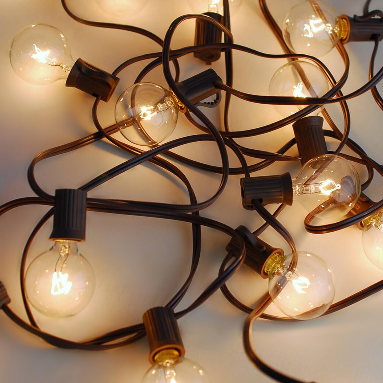 New Fashion Globe Christmas Festoon Fairy Lights Big Ball String Lights For Holiday Wedding Party Decoration 50% OFF