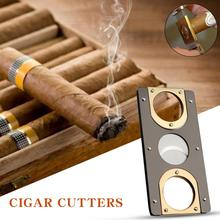 Cigar Cutter Brand New Stainless Steel Metal Classic Cigar Cutter Guillotine With Gift Box Christmas Cigar Scissors Gift Sharp anime naruto kraft paper poster home wall sticker decoration painting room restaurant picture art painting painting