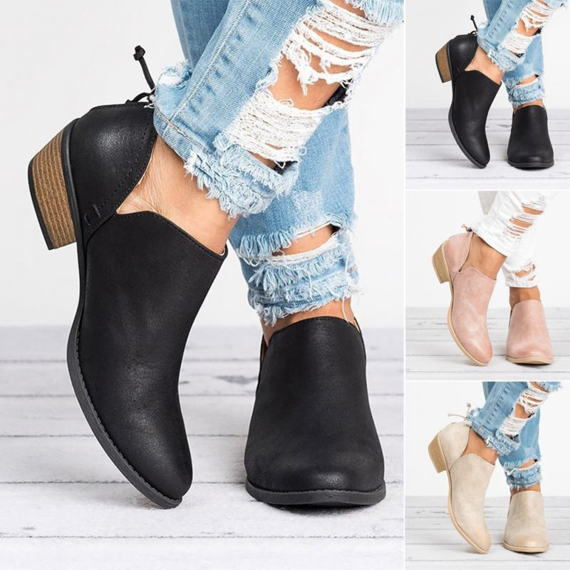 2018 Spring Autumn Women Butterfly-knot Chelsea Boots Slip-On Med High Heels Pointed Toe Shoes2018 Spring Autumn Women Butterfly-knot Chelsea Boots Slip-On Med High Heels Pointed Toe Shoes
