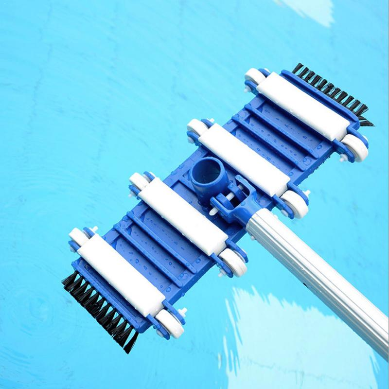 14 Inch Swimming Pool Cleaning Tip Tool With Brush Suction Cup Swimming Pool Cleaning Tool Pool Vacuum Head Accessories14 Inch Swimming Pool Cleaning Tip Tool With Brush Suction Cup Swimming Pool Cleaning Tool Pool Vacuum Head Accessories