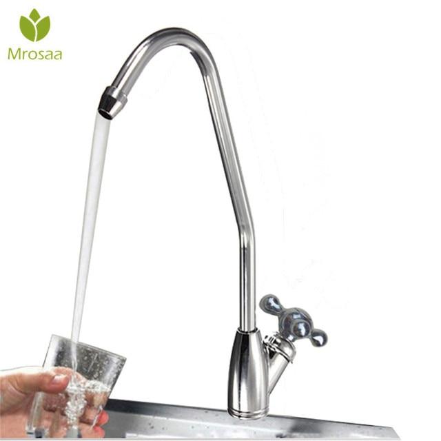 Mrosaa Basin Faucet Chrome Reverse Osmosis Ro Drinking Water Filter