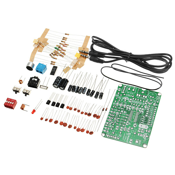 LEORY FM Stereo Transmitter Module MP3 Recorder DIY Radio Station Kit