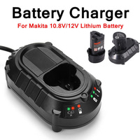 10.8V/12V DC10WA 10WB Power Tool Electric Li-ion Battery Charger Screwdriver Replacement For Makita BL1013 Battery Charger #1210 Электрический аккумулятор
