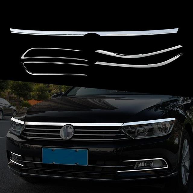 Decorative Automovil Body Exterior High-Grade Mouldings Trim Modification Covers Car Styling 17 FOR Volkswagen Magotan