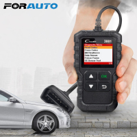 FORAUTO X431 Creader 3001 OBDII Code Reader Scan Tools PK AD310 ELM327 OM123 Scanner CR3001 OBDII Car Diagnostic Tool