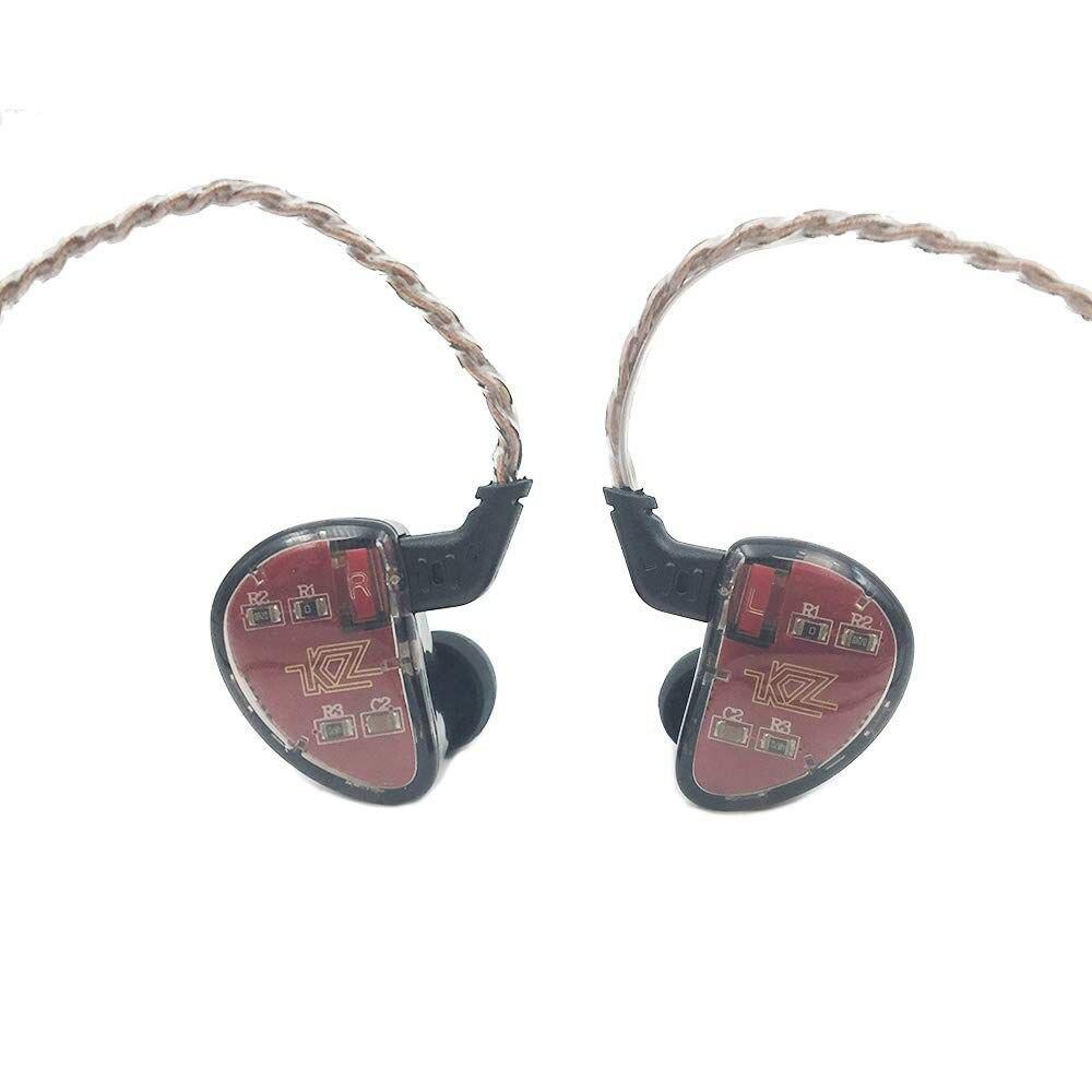 KZ AS10 5BA HiFi stéréo écouteurs intra-auriculaires haute résolution écouteurs 0.75mm 2 broches câble, cinq conducteurs à Armature équilibrée, N