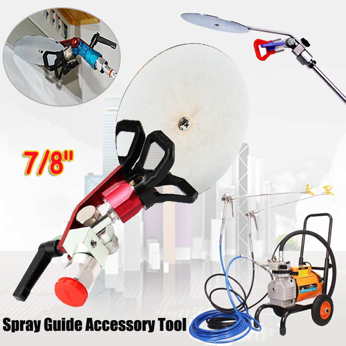 7/8'' Spray Guide Accessory Tool For Paint Sprayer 7/8'' Spray G U N Universal Airless Spraying Machine