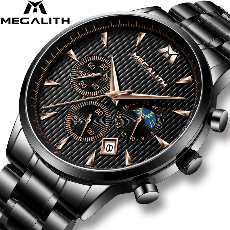 MAGELITH 2019 New Fashion Luxury Watches Men Waterproof Full Steel Business Quartz Watch Casual Wrist Watch Relogio MasculinoMAGELITH 2019 New Fashion Luxury Watches Men Waterproof Full Steel Business Quartz Watch Casual Wrist Watch Relogio Masculino
