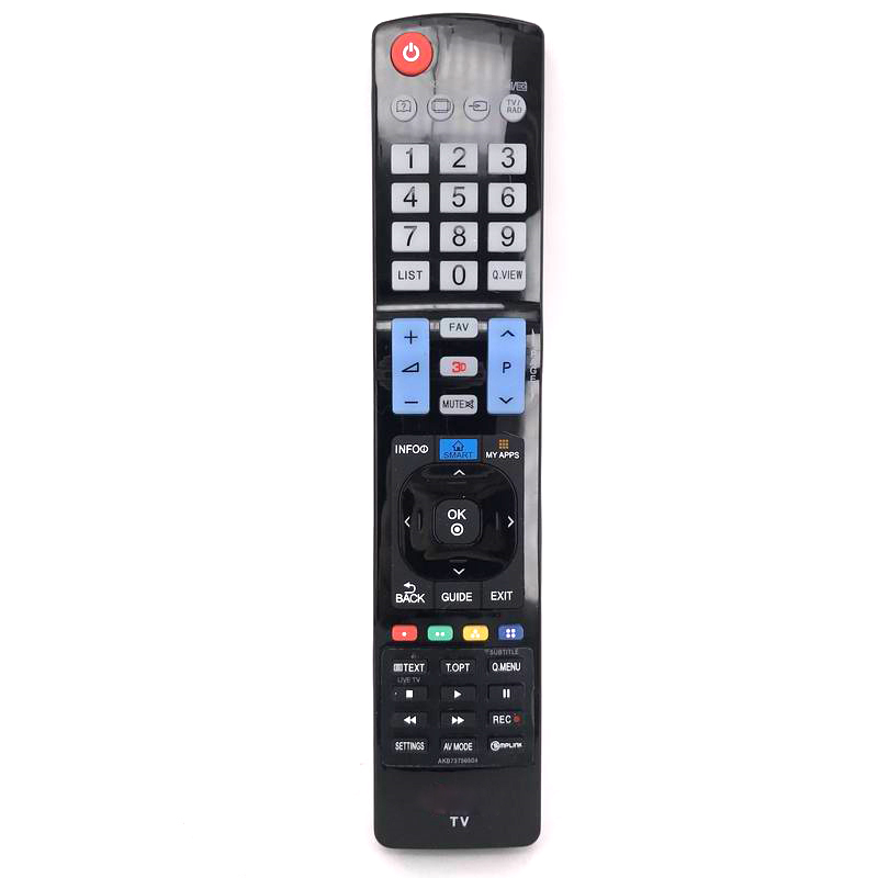 Workmanship In Humor Ffyy-new Replace Akb73756504 For Lg Led Tv Remote Control Akb73615303 60la8600 60ph6700 Exquisite
