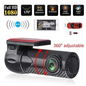 Mini WIFI Car DVR Auto Registrar 170 Degree Dash Cam Wireless Car Truck Driving Recorder Dash Camera Camcorder Night Vision(China)
