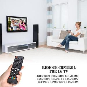Image 2 - ABS Universal Long Distance Transmission Remote Controller Replacement AKB75095308 for LG Smart TV  43UJ6309 with Netflix Black