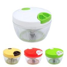 Manual Meat Grinder 500ML Hand-power Food Chopper Mincer Mixer Vegetable Choppers Kitchen Speedy Fruit Shredder