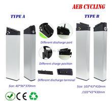 Складной велосипед батарея 36 В 10Ah внутренняя трубка батарея литий-ионный серебристый корпус батарея для городского велосипеда складываемый электровелосипед с зарядным устройством