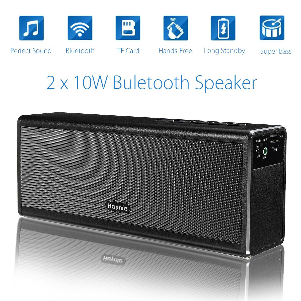 20W 4000Mah Portable HIFI Wireless Bluetooth 4.0 Speaker Stereo Super Bass Caixa Sound Box Handfree For Phone Power Bank