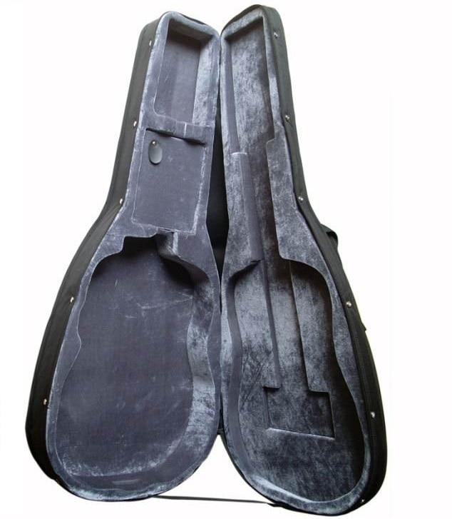 buy 2019 new guitar hard case guitar case for acoustic guitar or electric. Black Bedroom Furniture Sets. Home Design Ideas