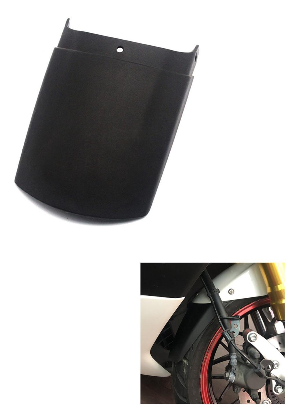 Color : Black Stark Und Robust Motorrad Front Extension Splash Schlammklappe F/ür Yamaha NMAX 155