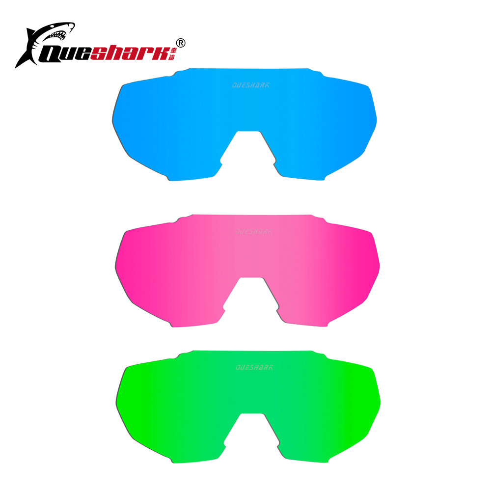 The Accessories For Queshark QE42 Model Cycling Glasses Myopia Frame Color Lens Extra Eblows Photochromic Lens okulary wojskowe