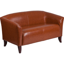 HERCULES Imperial Series Cognac Leather Loveseat [111-2-CG-GG]