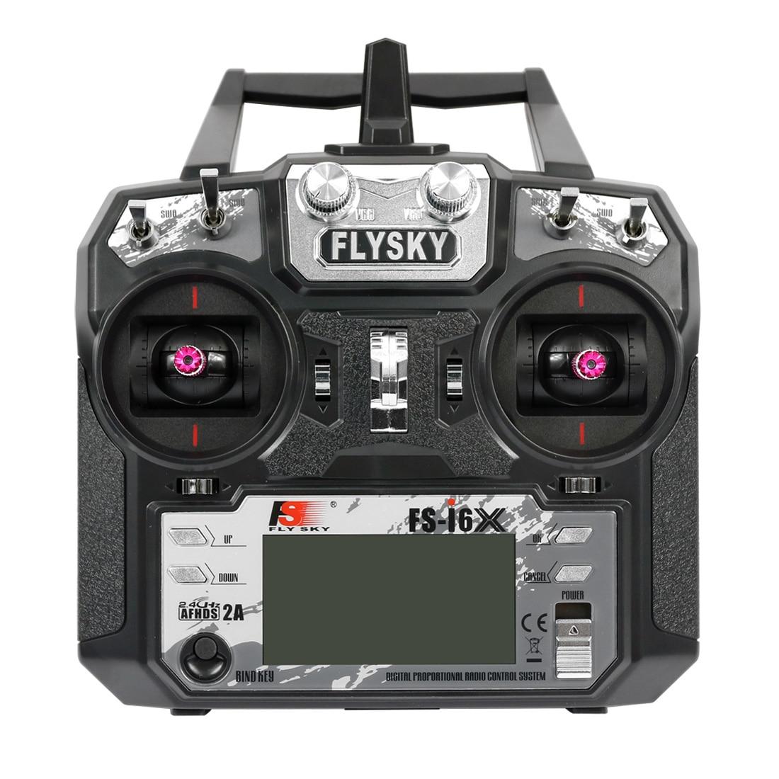 Émetteur d'origine Flysky FS-i6X 2.4G 6CH TX pour hélicoptère planeur à aile fixe Drone RC quadrirotor multi-axes